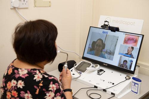 Medicspot allows remote diagnosis