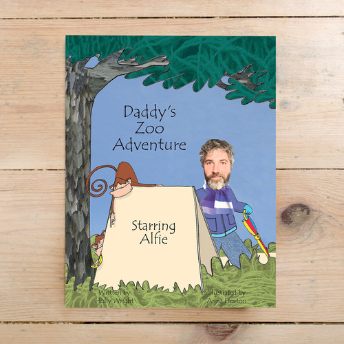 Father&#039s Day book featuring trim beard