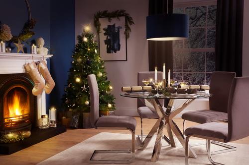 FC Plaza Perth Blue Christmas
