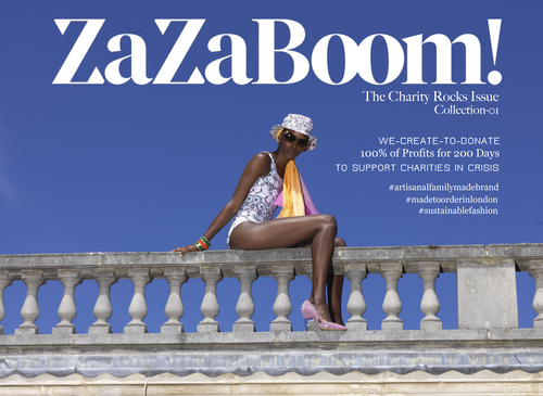 ZaZaBoom the charity-inspired brand