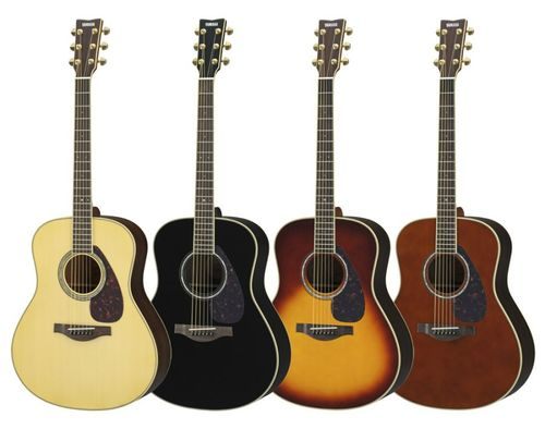 LL6 ARE acoustic guitars