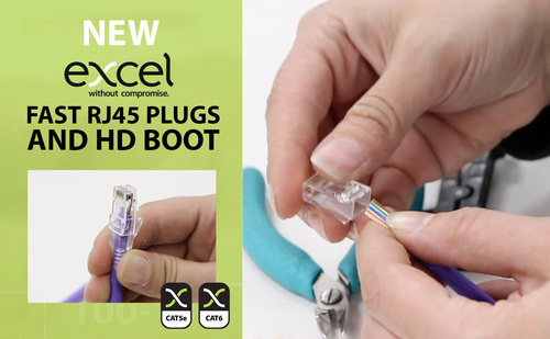Excel's Fast and Easy RJ45 Plug Range