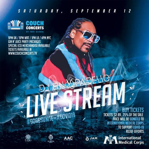 Snoopadelic Live Streaming Gig