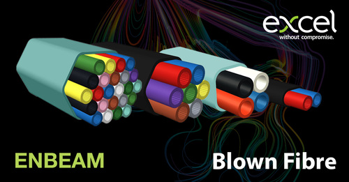 Excel Introduces Enbeam Blown Fibre