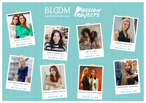 BLOOM Gin's Passion Project