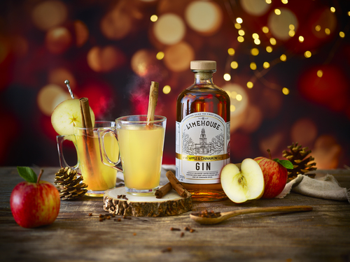 Limehouse Gin Apple &amp Cinnamon Hot Serve