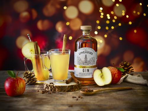 Limehouse Gin Apple &amp Cinnamon Hot Serve