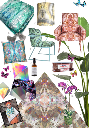 Create Your Own Temple mood board