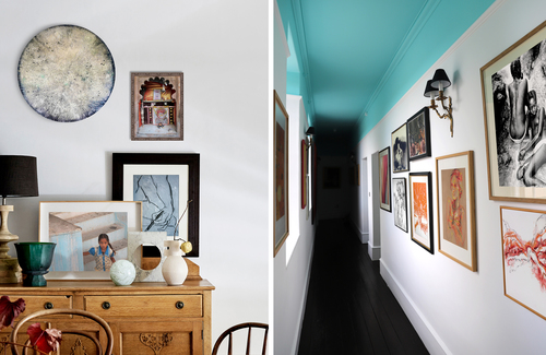Create a gallery wall in your home