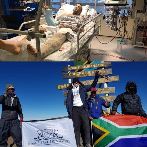 Crash to Kilimanjaro in 15 months