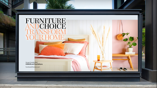 Furniture And Choice Rebrand with Logo