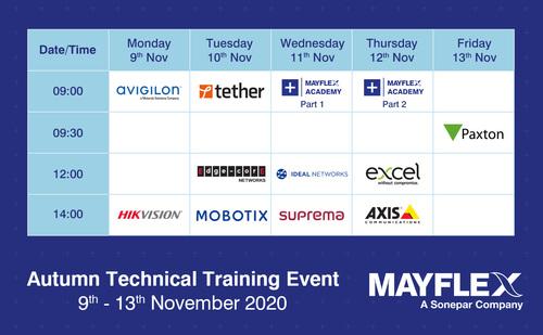 Autumn Technical Training Event