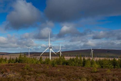 Vattenfall's Clashindarroch Wind Farm