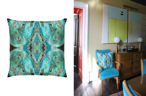 Nirvana cushion comes in rainbow hues