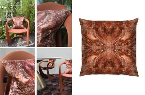 Indoor velvet or outdoor self-piped
