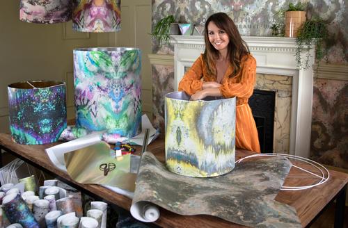 Sonya Rothwell in her home studio