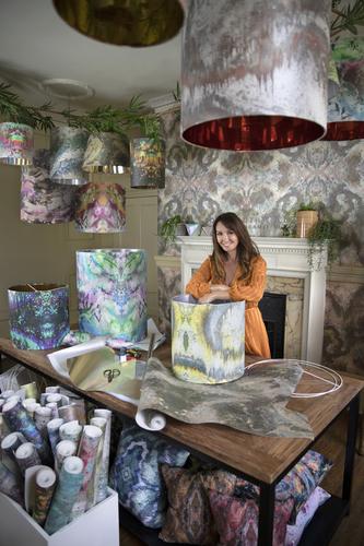 Sonya Rothwell's enchanting home studio