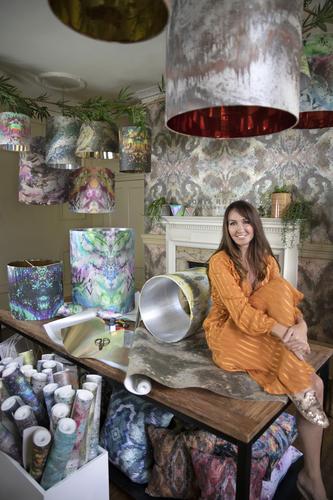 Sonya Rothwell at Gallery Beautiful's HQ