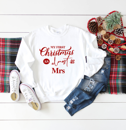 Almost Mrs Christmas Jumper