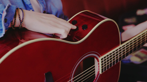Revolutionary TransAcoustic Guitars