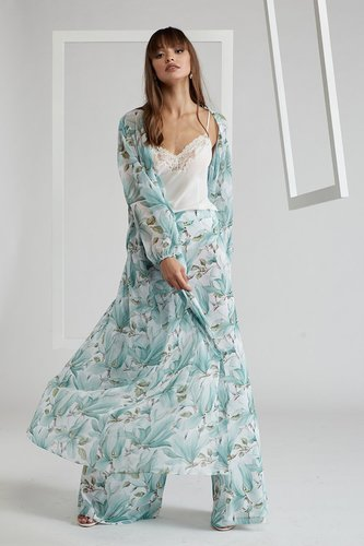 PJ Set with Robe - Bocan Couture