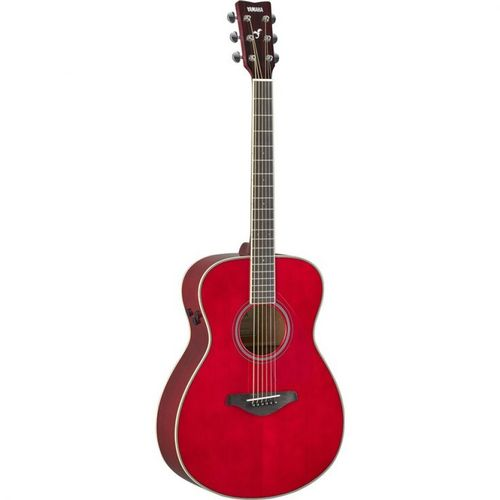 TransAcoustic Guitar in Raspberry Red