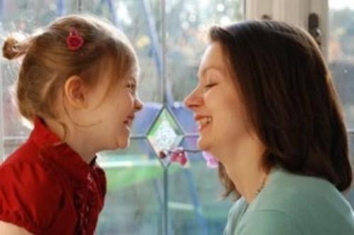 Jenny Mullan and daughter