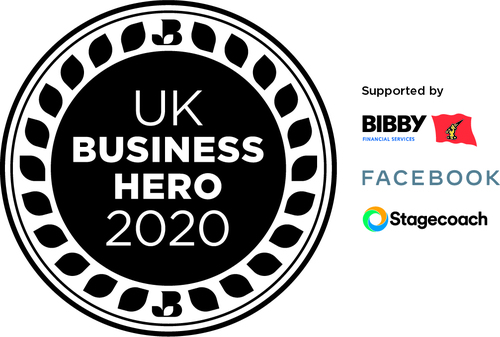 UK Business Hero linear logo