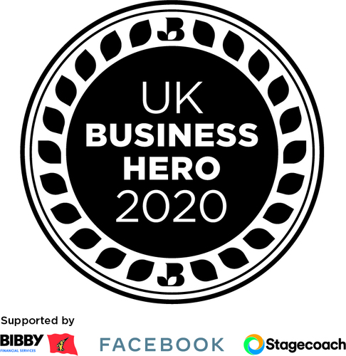 UK Business Hero stacked logo