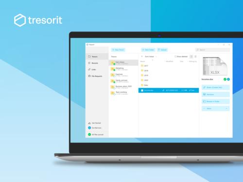 Tresorit: secure file sharing for teams