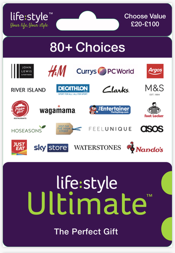 The Lifestyle Ultimate gift card