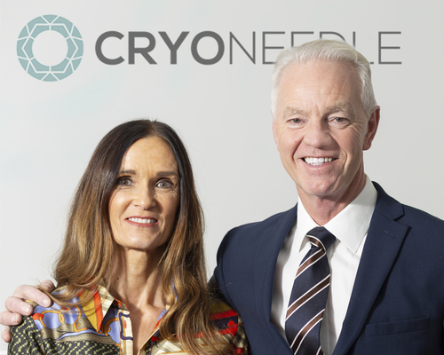 Maxine and Chris Wilson of Cryoneedle