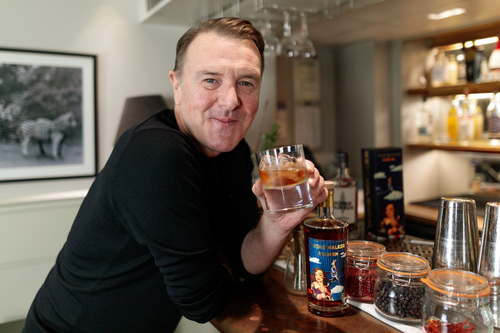 Phil Tufnell enjoying his Wing Walker