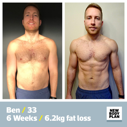 New Body Plan success story Ben Lloyd