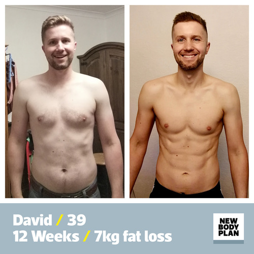 New Body Plan success story David Clark
