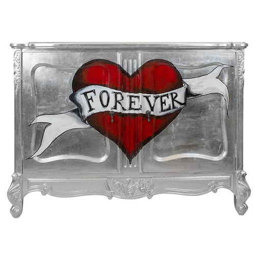 Silver Forever Cabinet
