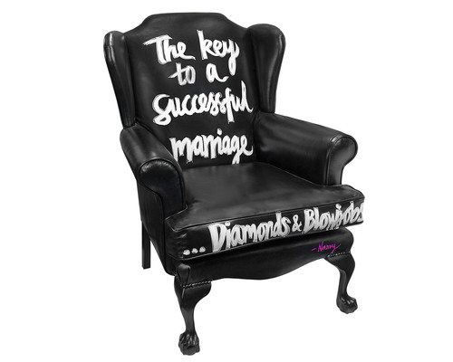 Key To A Successful Marriage Armchair