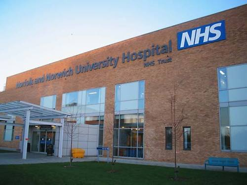 Norfolk &amp Norwich University Hospital