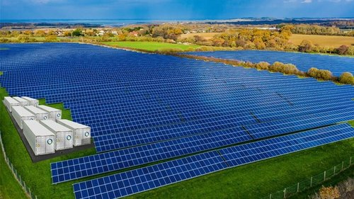 Co-located solar and battery storage