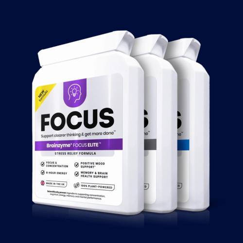 Brainzyme Focus Elite Pro &amp Original