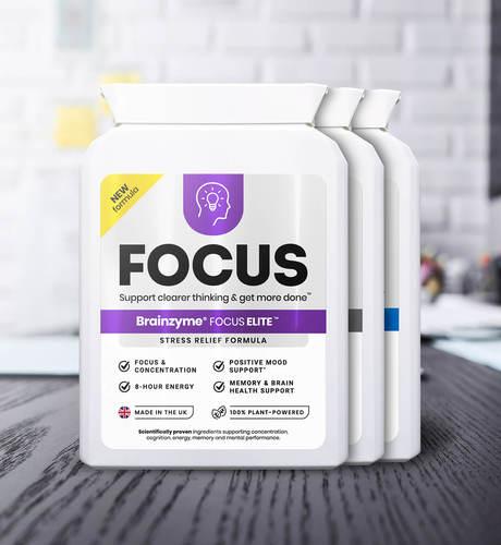 Brainzyme Focus 3-in-1 Set
