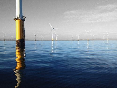 Offshore wind project
