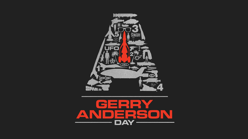 Image is logo for Gerry Anderson Day