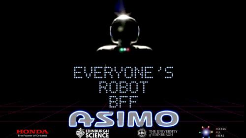 ASIMO MEDIA STILL : EVERYONE'S ROBOT BFF