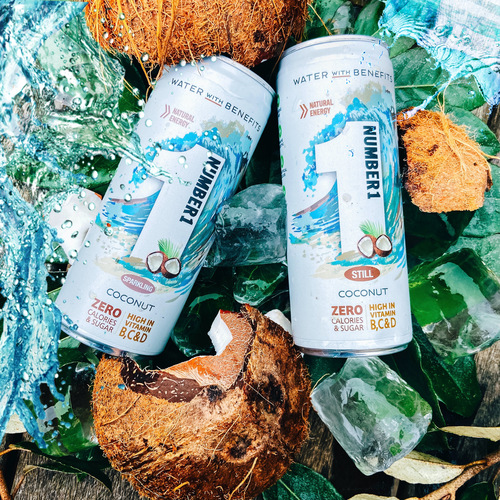 Number1 Water Coconut Flavour