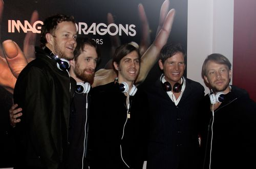 Tim with Imagine Dragons