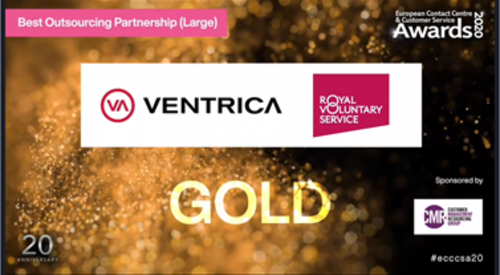 Gold Winner Best Outsourcing Partnership