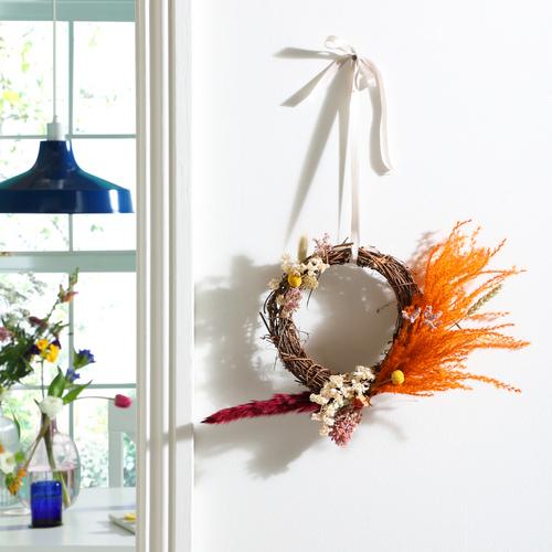 Easter floral hoop image 1