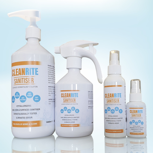 CleanRite range of sanitisers