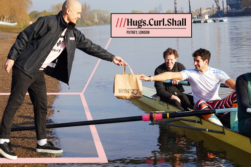 Rower with Weezy delivery & what3words
